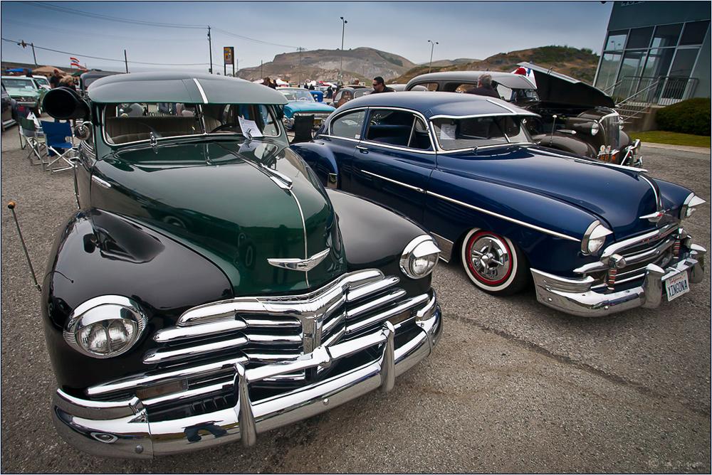 Street Rod Treffen in Pacifica CA