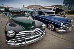 Street Rod Treffen in Pacifica CA