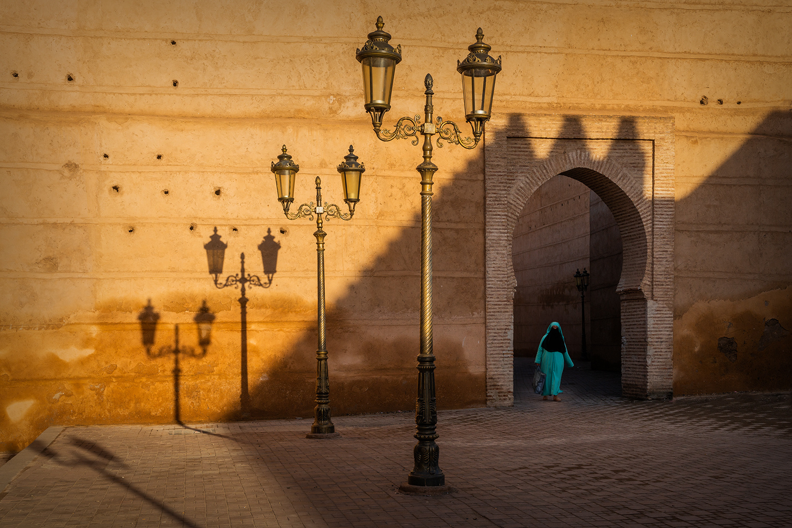 Street Scene in Marrakesh