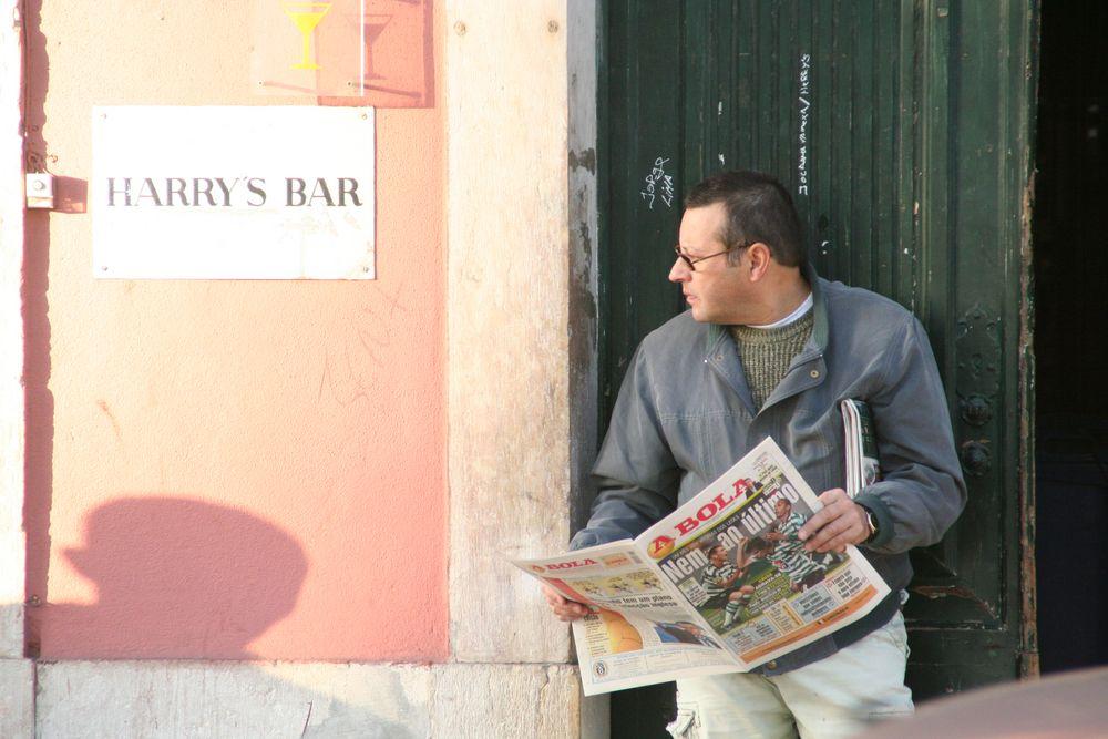 street Schatten Harrys Bar Lissabon L-282col