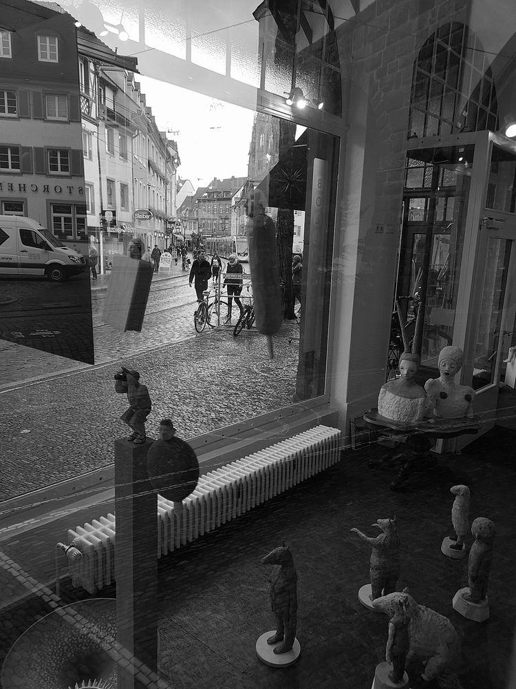 street Schau Fenster Figuren FR P20-20-swfi