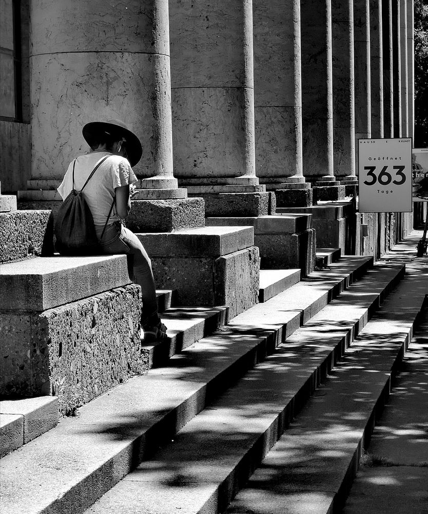 street Treppe 363 Muc lum-20-sw +8Fotos