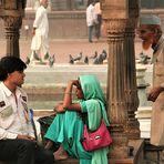 street Wortwechsel India Ca-21-60-col +Indienfotos