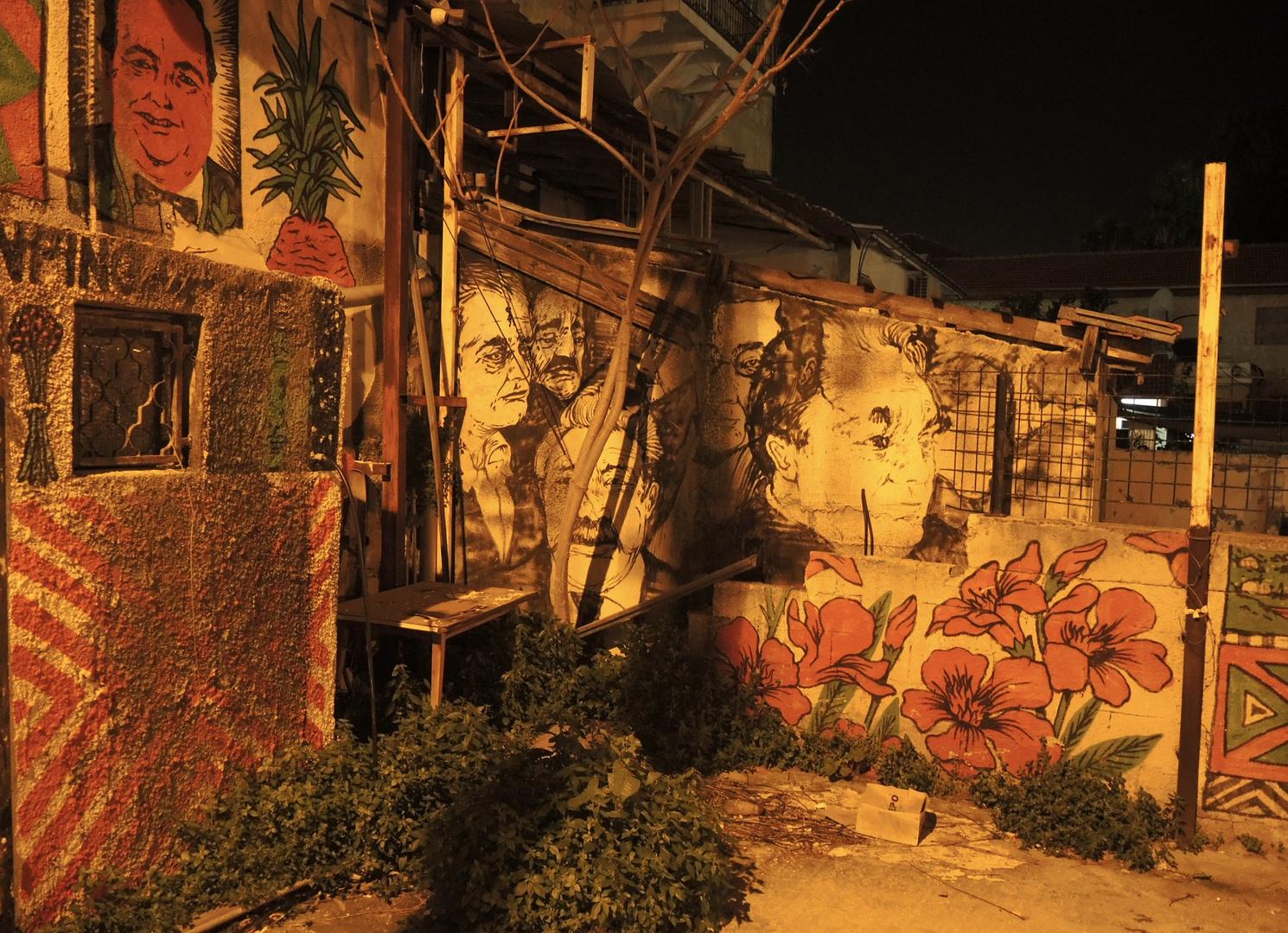 Streetart in Haifa