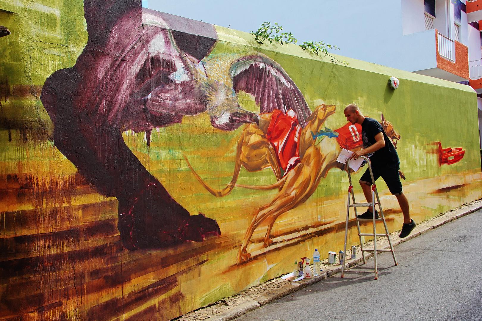 Streetart in Lagos