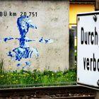 streetart Ratlos Gleis p-21-46-col