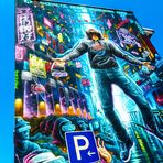 streetart SCHALTE auf P! J5-9col