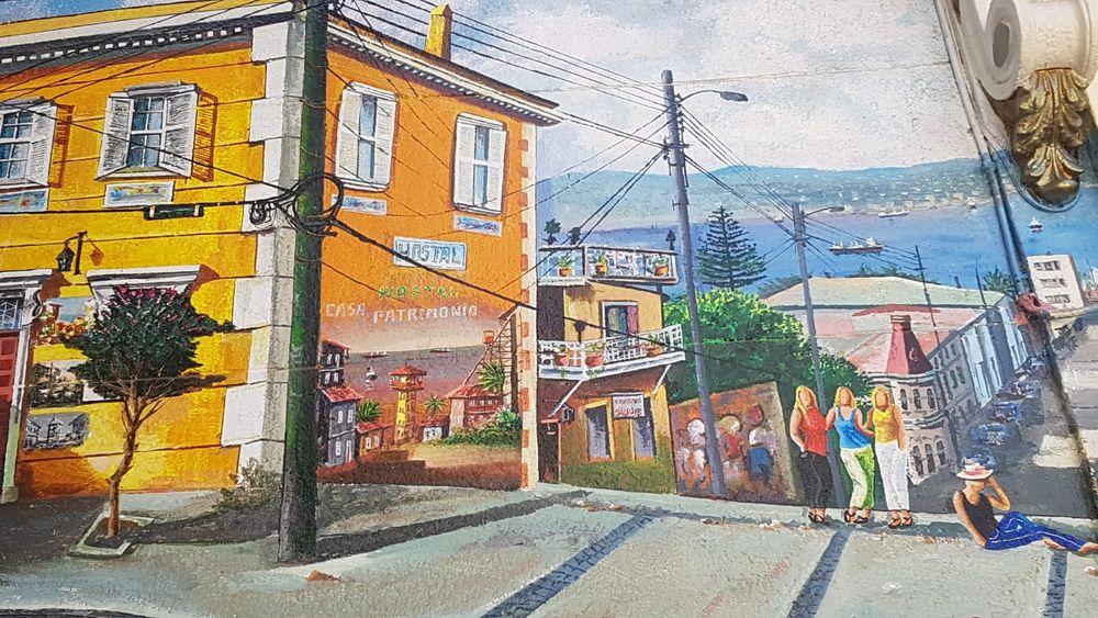 streetart Wandbild von ISV Chile +4Fotos