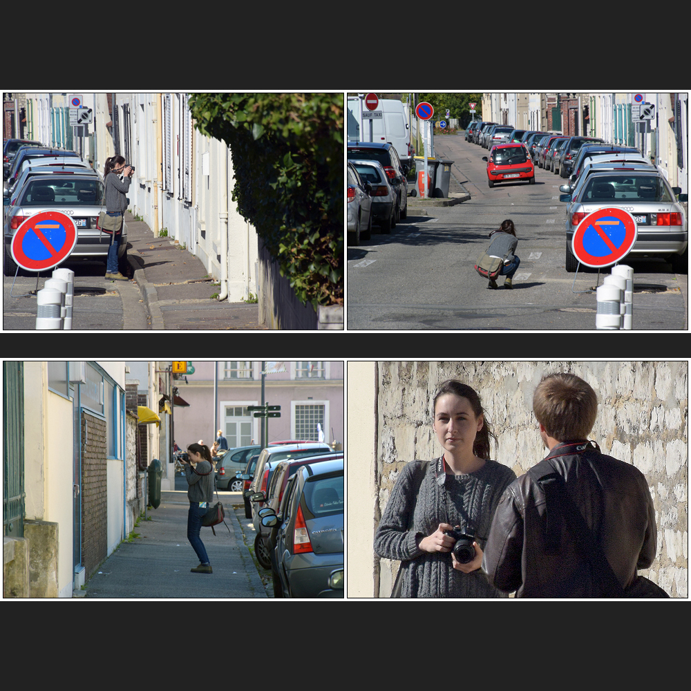 Streetfotografin