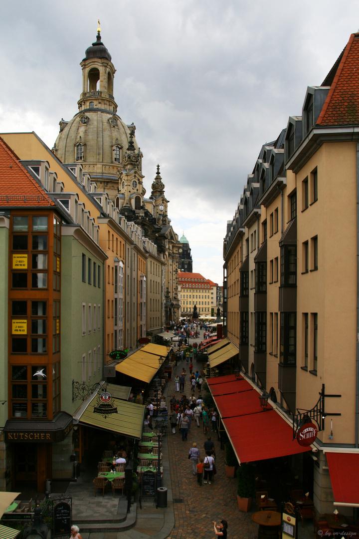 Streetlife meets Frauenkirche Dresden