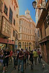 Streetlife of Palma's Oldtown
