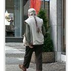 Streetlife (seen in Elberfeld City) Nikolas on the way to do some shopping