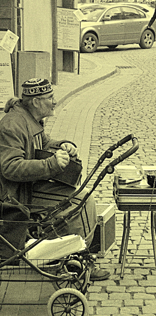 Streetmusician in Prague
