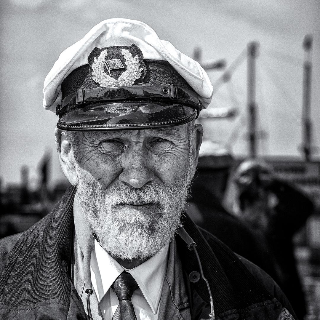 Streetportrait - Hamburger Hafen!