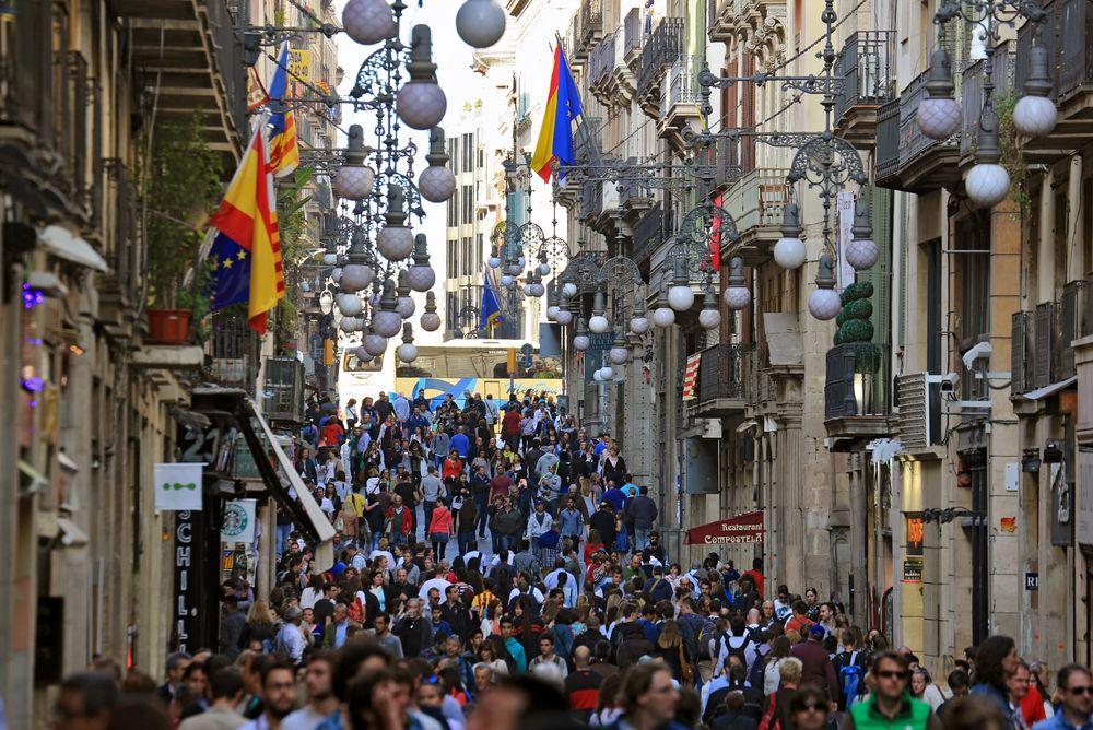 Streets of Barcelona 2