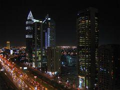 Streets of Dubai - Sheikh Zayed Road