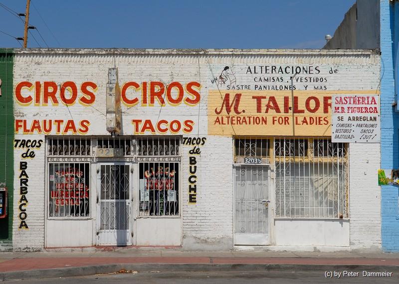 Streets of El Paso ...