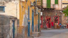 Streets of Galaxidi