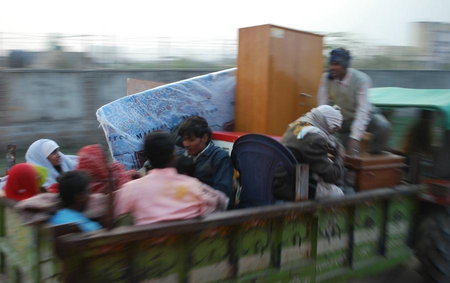 Streets of India 9 - mit Sack und Pack