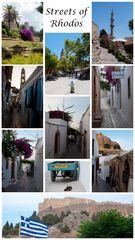 Streets of Rhodos