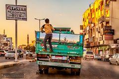 Streetsurfing in Dahar