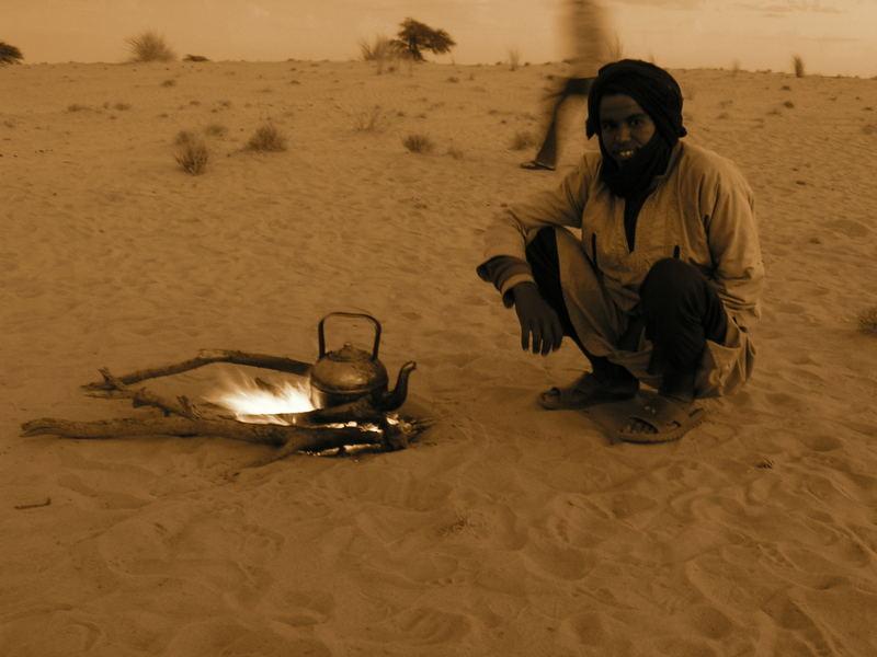 Stress in der Wüste?