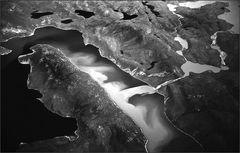 strömende gletschermilch