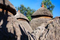 Strohhütten in Konso...