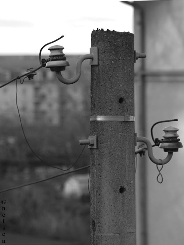 Strom-Lichtmast