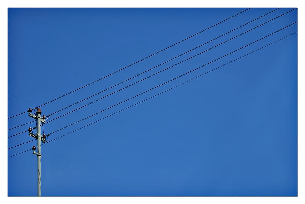Strom-Linien-Förmig