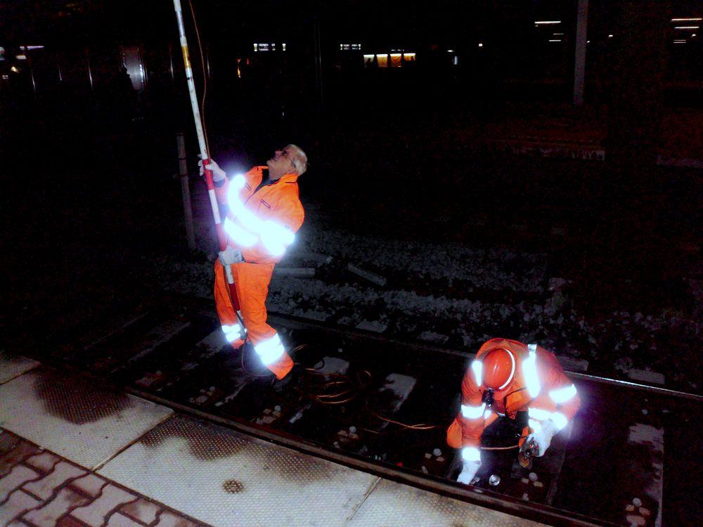 Stromausfall im Duisburger Bahnhof am. 1. 3. 2011