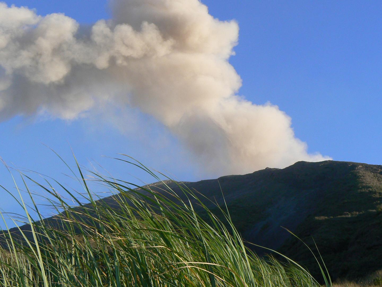 Stromboli - juste un nuage