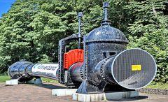 Stromerzeuger, Restaurierte Wasserturbine