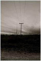 Stromlinienförmige reise durch das land