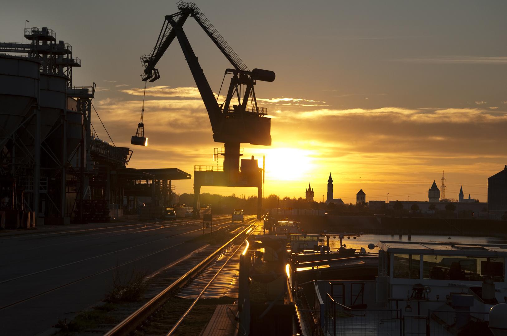 Strraubing - Hafen