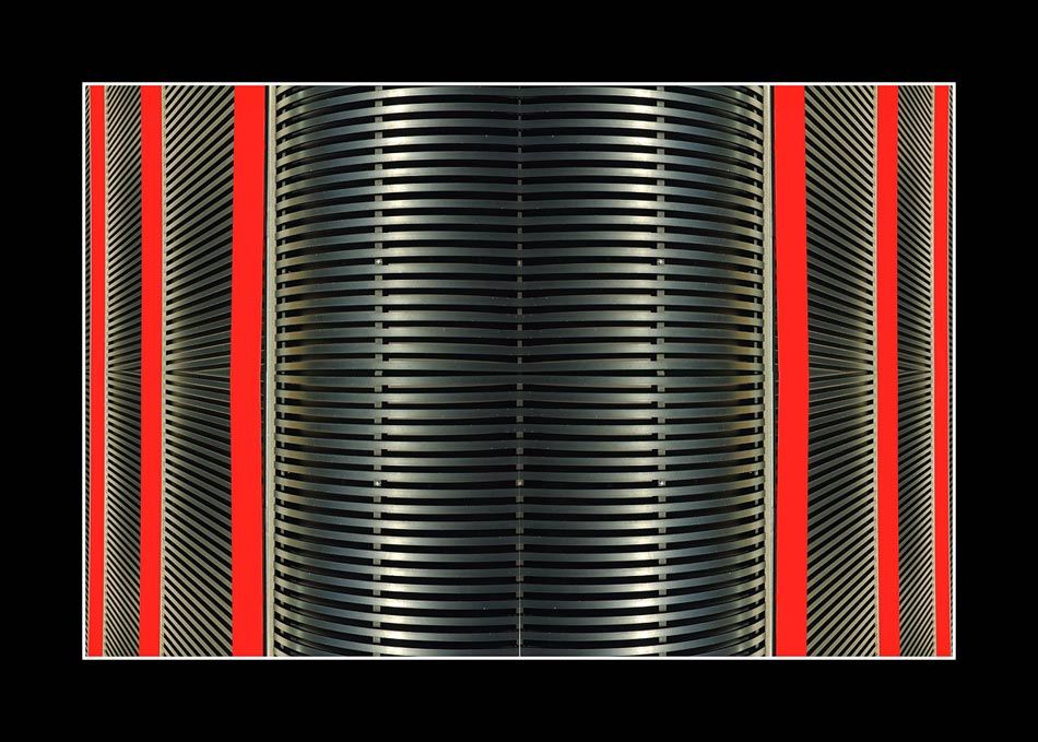structure in red. two; Nr. 4 der Serie