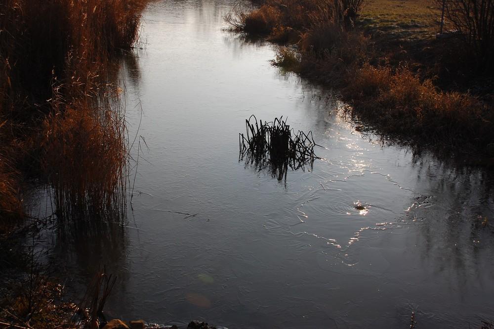 Strudel im Eis