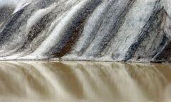 Struktur im Eis