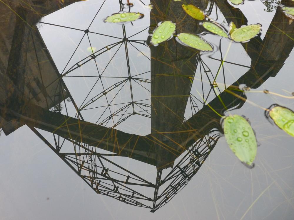Struktur im Wasser