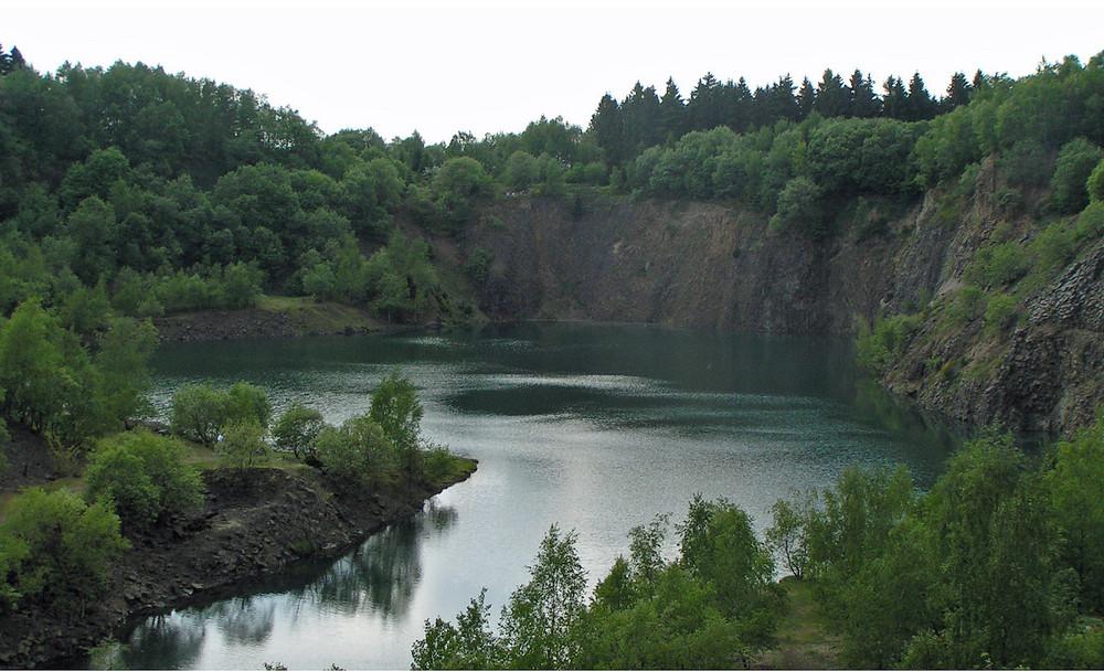 """Struthütten, """"Silbersee 2"""" im Naturschutzgebiet Malscheid"""