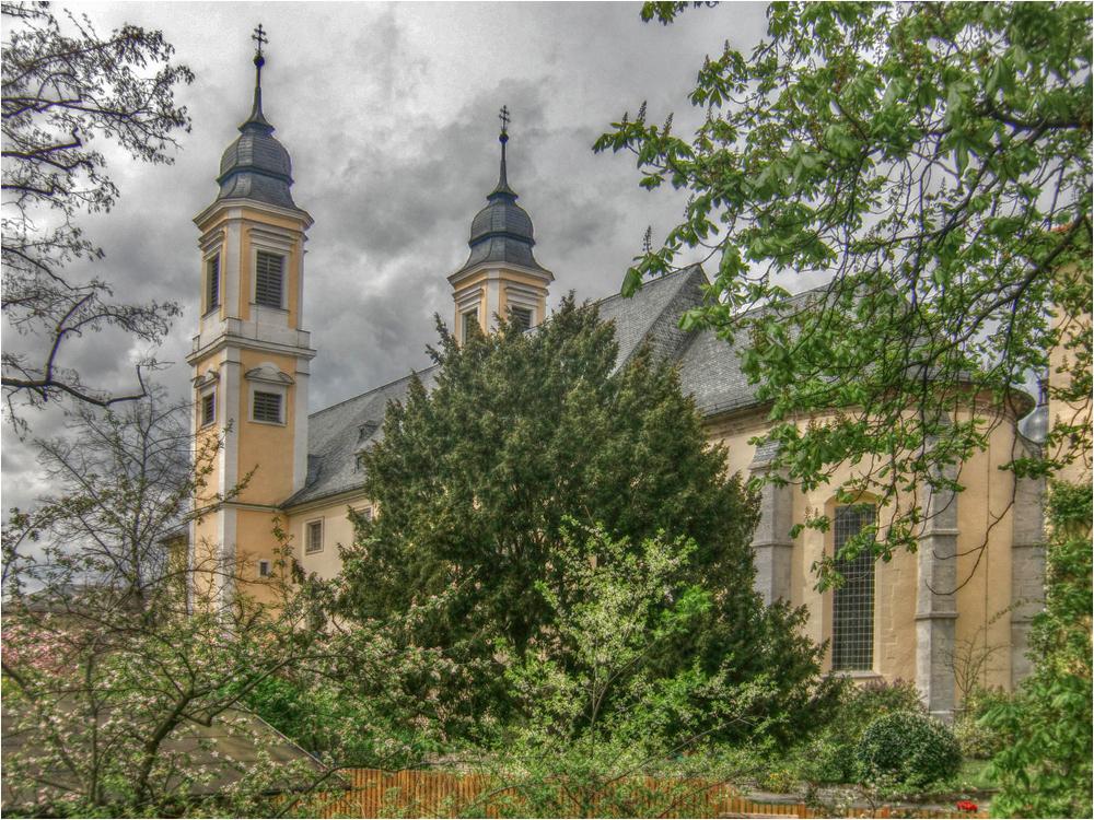 St.Stephan in Würzburg
