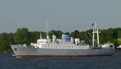 Stubnitz  -  ehemaliges Kühlschiff der DDR-Hochseeflotte.