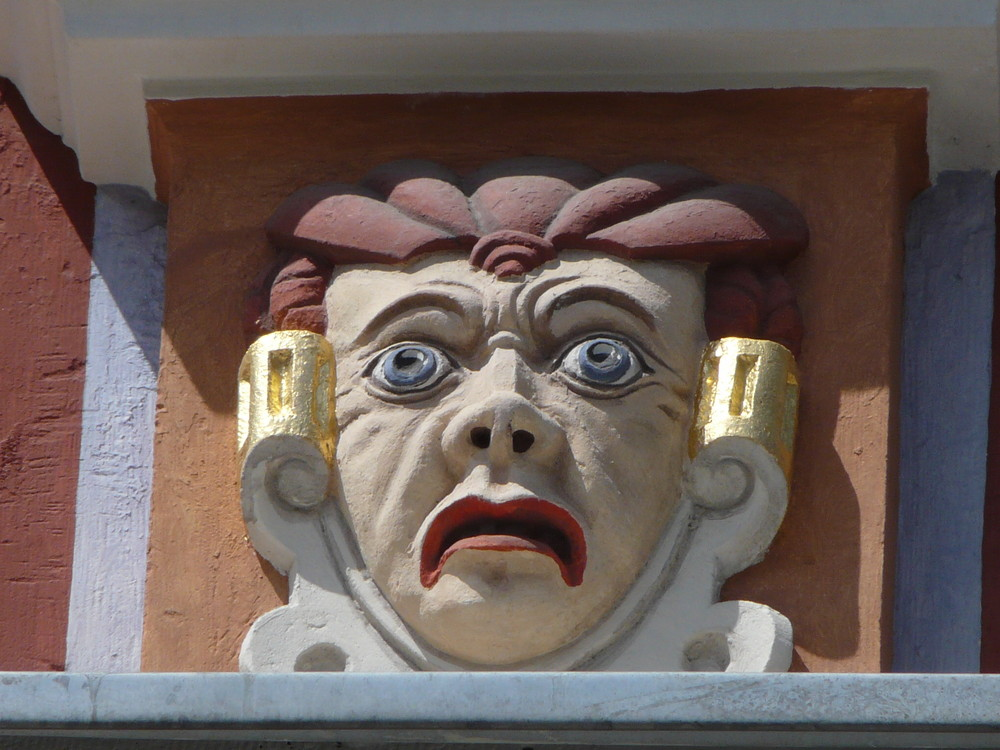 Stuckornament in Erfurt