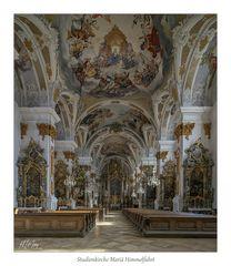 """Studienkirche Mariä Himmelfahrt - Dillingen """" Gott zu Gefallen..."""""""