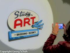 Studiert Kunst