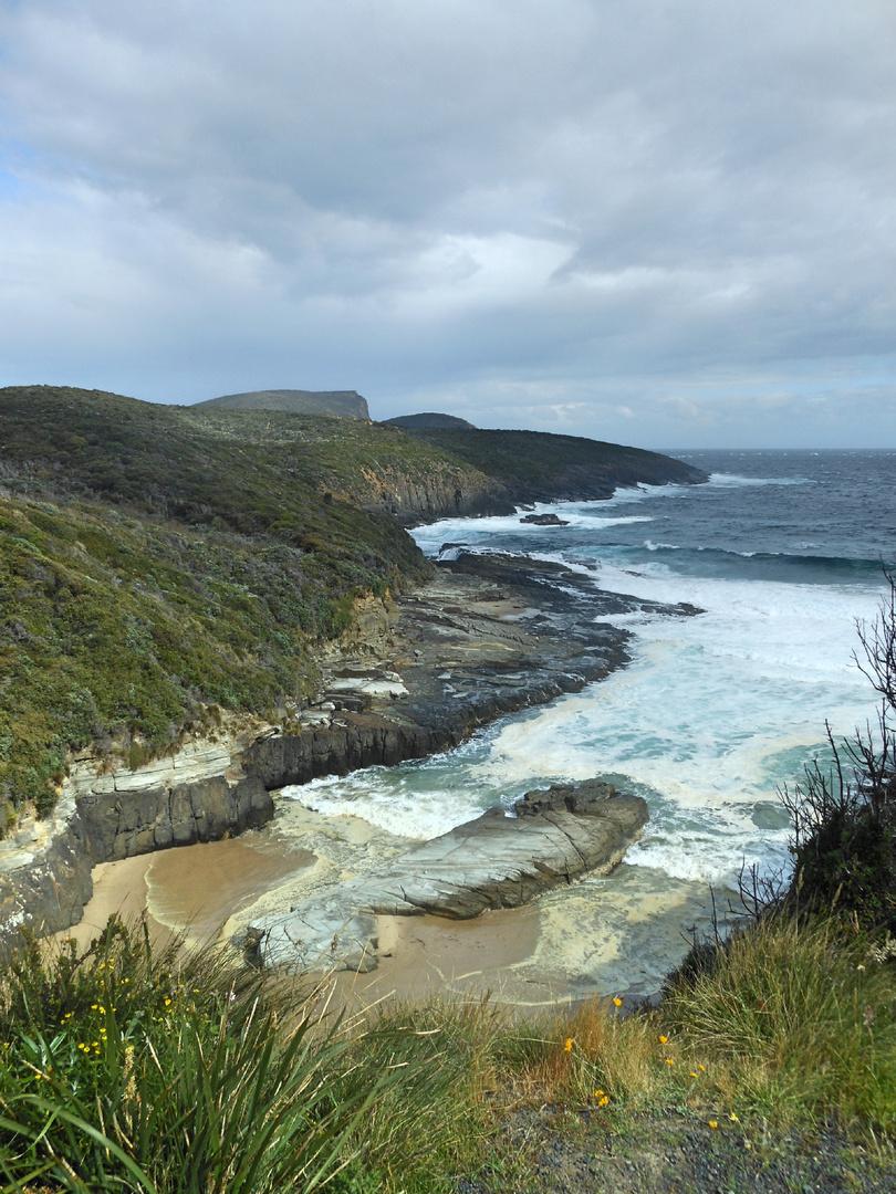 stürmische Küste_Foto Kreartiv_Tanja Heidenreich