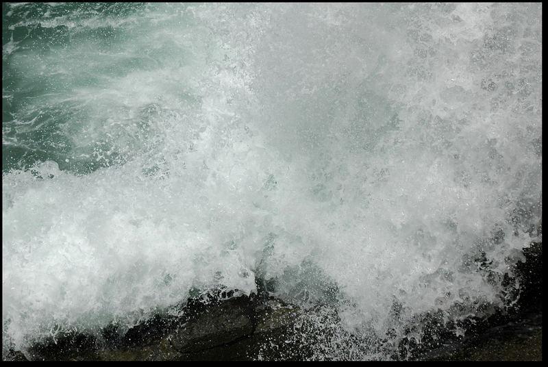 stürmisches Meer Versuch II