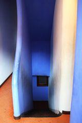 Stufen ins Blaue