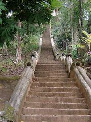 Stufen zum Berg