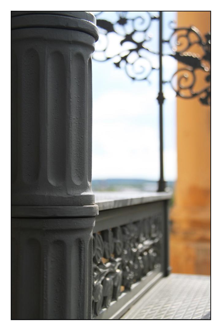 Stufen zur schönen Aussicht